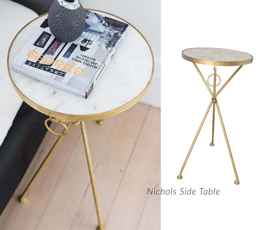 Classically inspired: Nichols Side Table