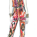 Together Printed Jumpsuit