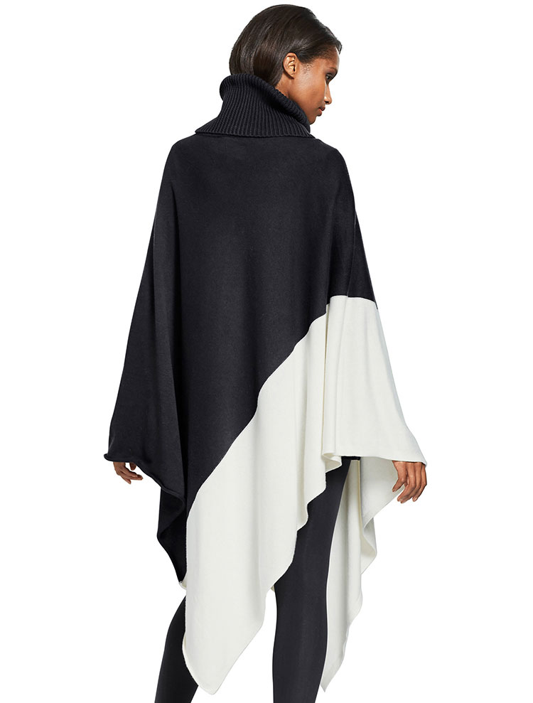 Capture European Oversized Poncho