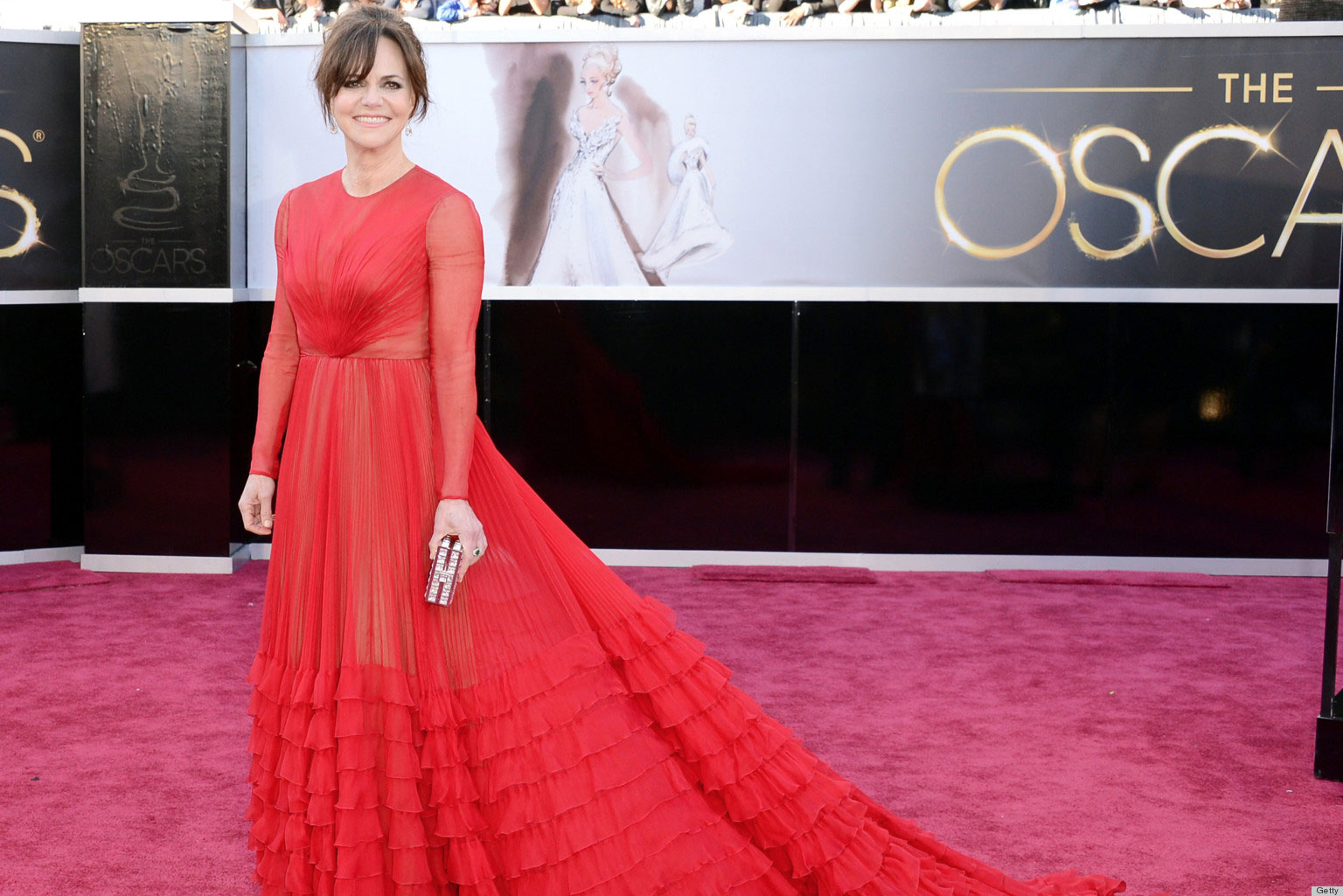 Sally Field at the 2013 85th Academy Awards. Photo: Getty.