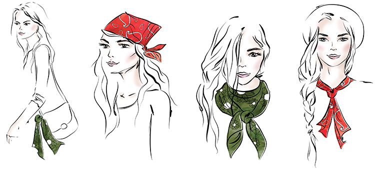 Neckerchief Fashion Trend