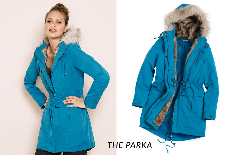 Stay fashionable even if it's raining with the Urban Parka Jacket