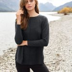 Easy to wear knit - Emerge Contrast Back Knit