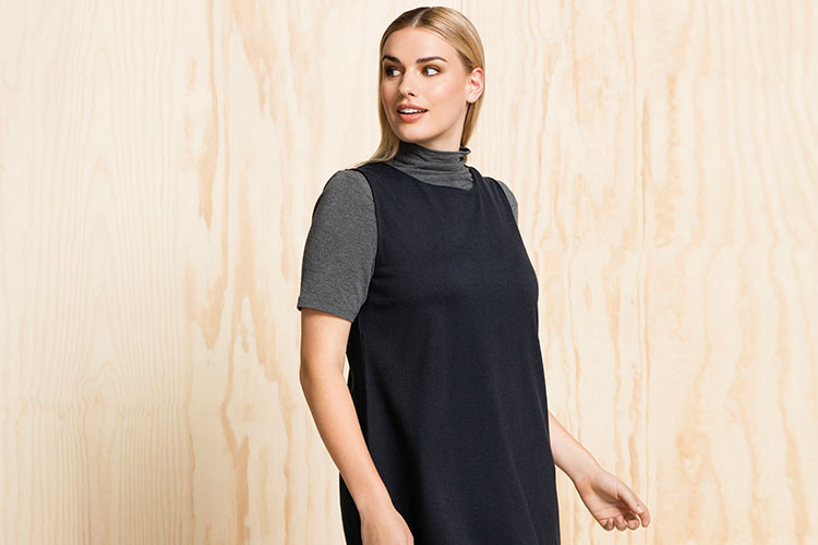 Try out the Turtleneck Top - Wear under summer dresses to make them last each season