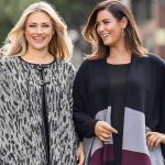 Curve Clothes: Grey Cape and Mutli Colour Poncho